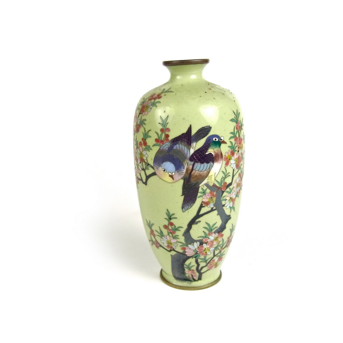 A japanese miniature cloisonne vase late meiji period view ex large images reviewsmspy