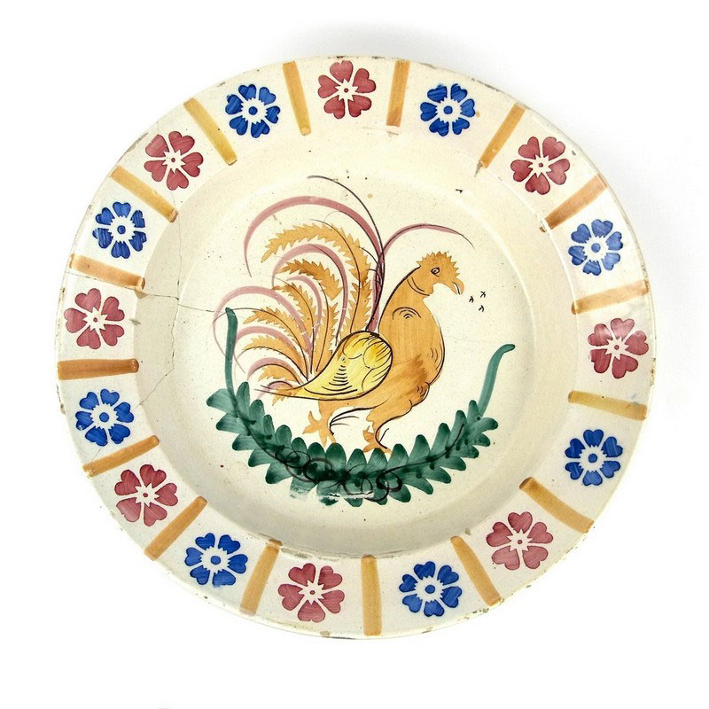 A French Faience charger, probably late 19th century - Image 1
