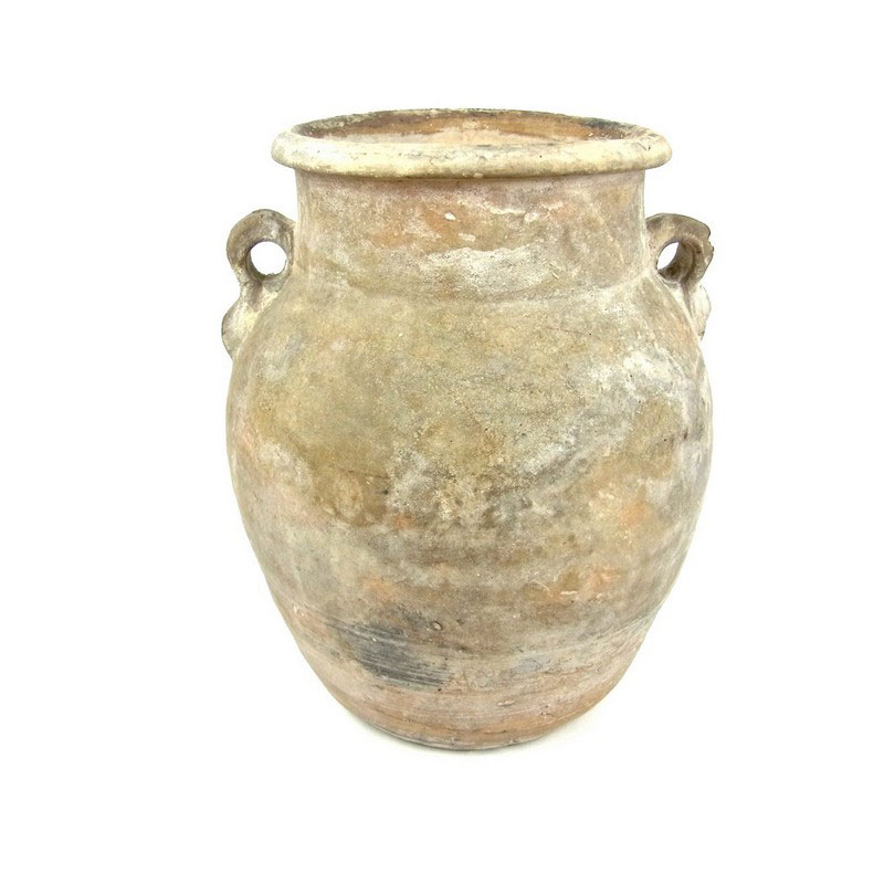 A Roman twin handled pottery vessel - Image 1