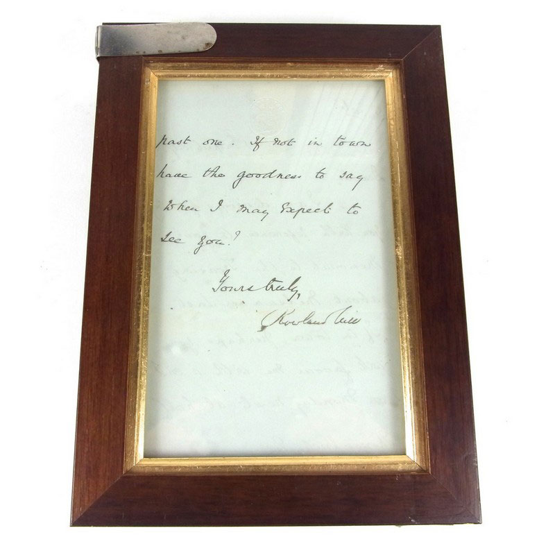 Great Britain Postal History: A letter written and signed by Rowland Hill, inventor of the penny post - Image 2