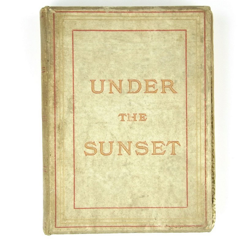 A signed copy of Bram Stoker's book entitled 'Under The Sunset' - Image 1